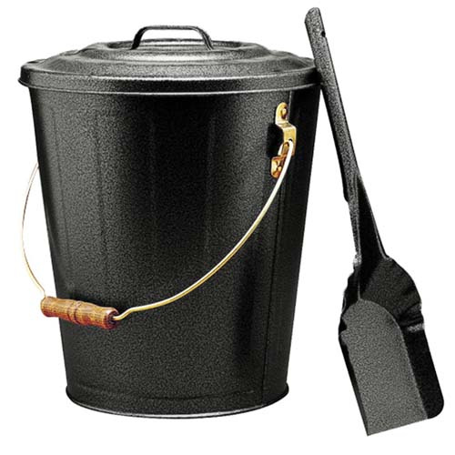 Covered Ash Pail