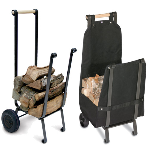 Back Saver Wood Cart